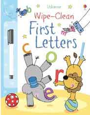 Usborne Wipe Clean First Letters -