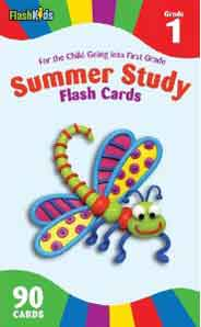 Summer Study Flash Cards Grade 1 (Flash Kids Summer Study