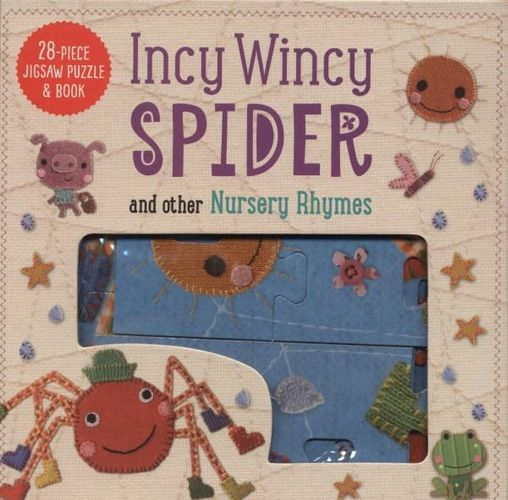 Incy Wincy Spider Jigsaw Puzzle & Book - (PB)