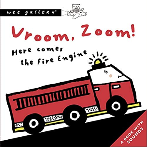 Vroom, Zoom! Here Comes The Fire Engine