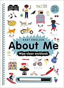 About Me: Wipe-Clean Workbook - Hardcover
