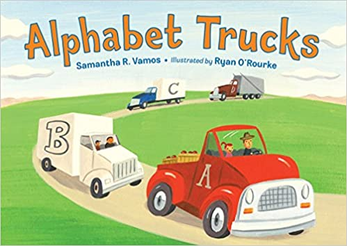 Alphabet Trucks - Board book