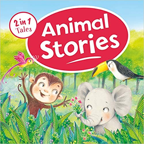 Animal Stories: 2 in 1 Tales - Board book