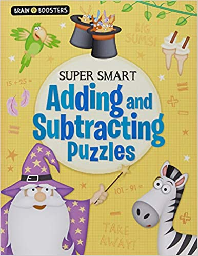 Brain Boosters: Super-Smart Adding and Subtracting - Paperback
