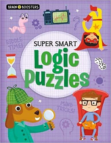 Brain Boosters: Super-Smart Logic Puzzles - Paperback