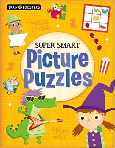 Brain Boosters: Super-Smart Picture Puzzles - Paperback