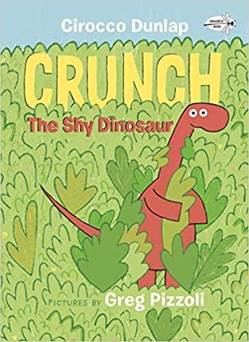 Crunch the Shy Dinosaur - Paperback