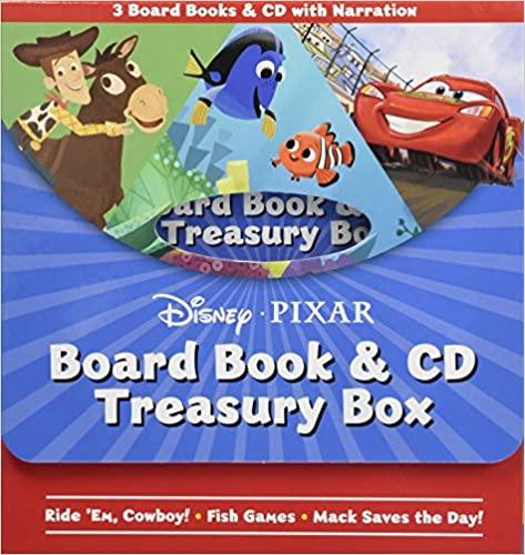 Disney Pixar Board Book & CD Treasury Box