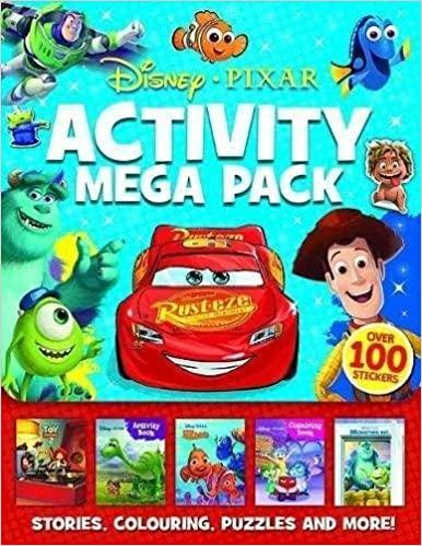 Disney Pixar: Mixed: Activity Mega Pack - Paperback