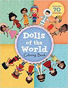 Dolls of the World Coloring Book - Paperback