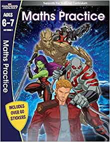 Guardians of the Galaxy: Maths Practice - Paperback