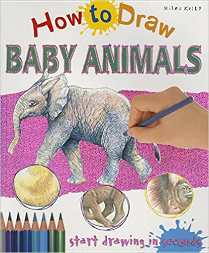 How to Draw Baby Animals - Paperback