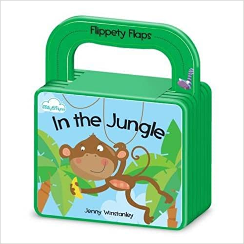 In the Jungle: Flippety Flaps - Board Book