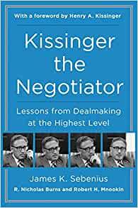 Kissinger The Negotiator - Paperback
