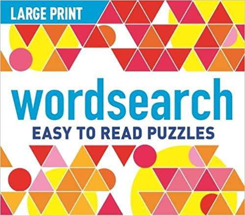 Large Print Wordsearch - Paperback