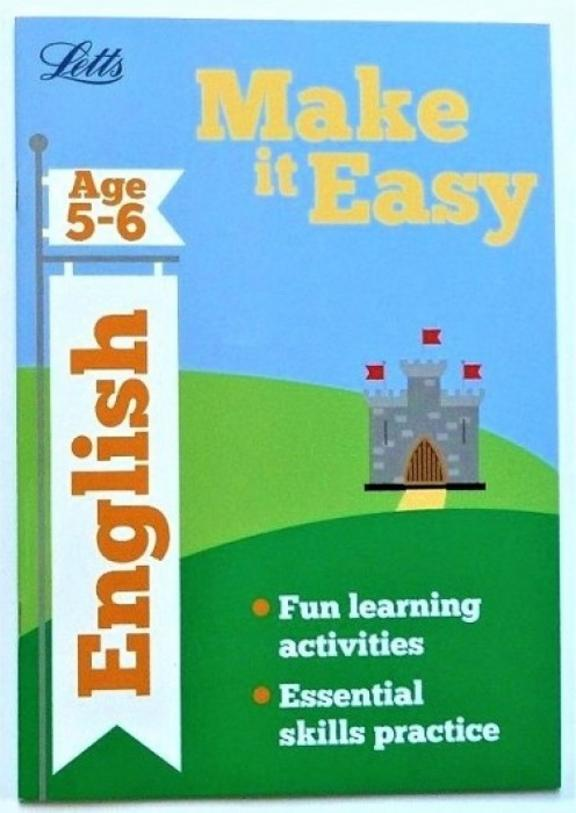 Letts: Make it Easy English (Age 5-6)