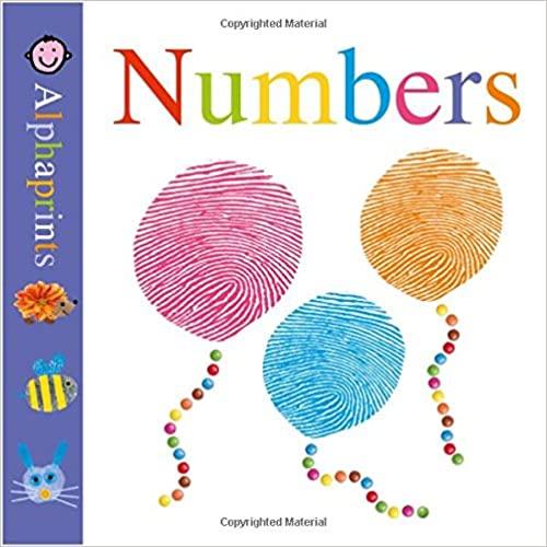 Little Alphaprints: Numbers