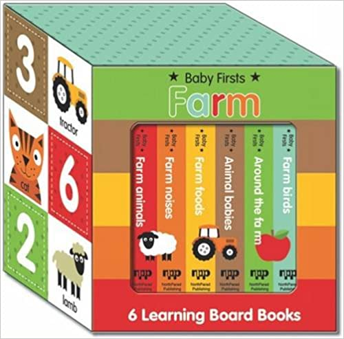 Look and Learn Boxed Set - Farm: Book Box Set