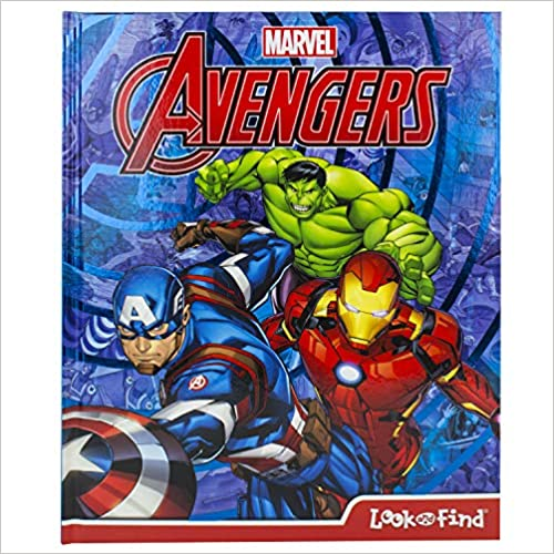 Marvel Avengers Look and Find Activity Book - Hardcover