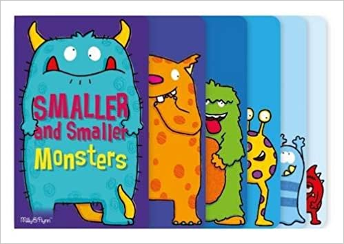 Milly & Flynn Smaller and Smaller Monsters - Hardcover