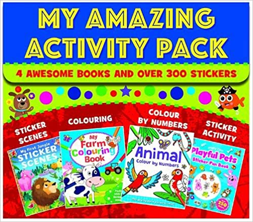 My Amazing Activity Pack - Paperback