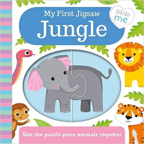 My First Jigsaw Jungle - Board book
