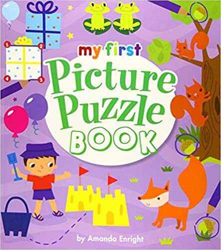 My First Picture Puzzle Book - Paperback
