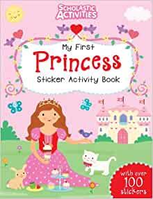 My First Princess Sticker Activity Book - Paperback