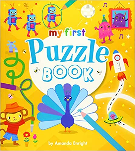 My First Puzzle Book - Paperback
