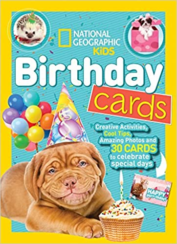 National Geographic Kids Birthday Cards - Paperback