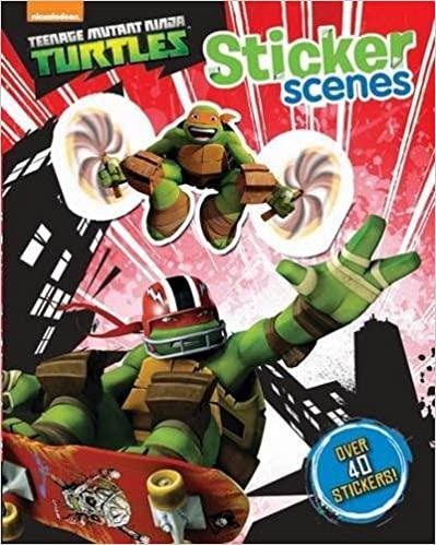 Nickelodeon Teenage Mutant Ninja Turtles Sticker Scenes - Paperback