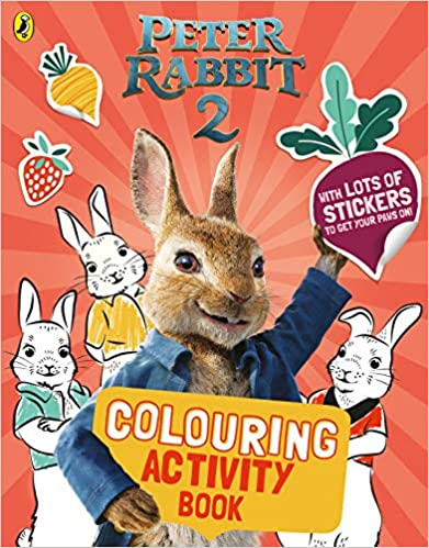 Peter Rabbit Movie 2: Colouring Activity Book - Paperback