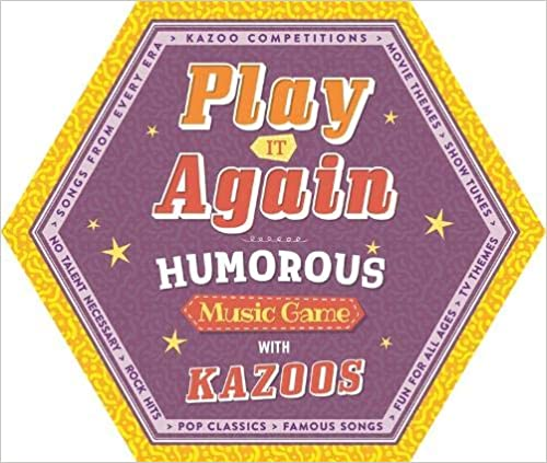 Play It Again Humorous Music Game Kazoo - Paperback