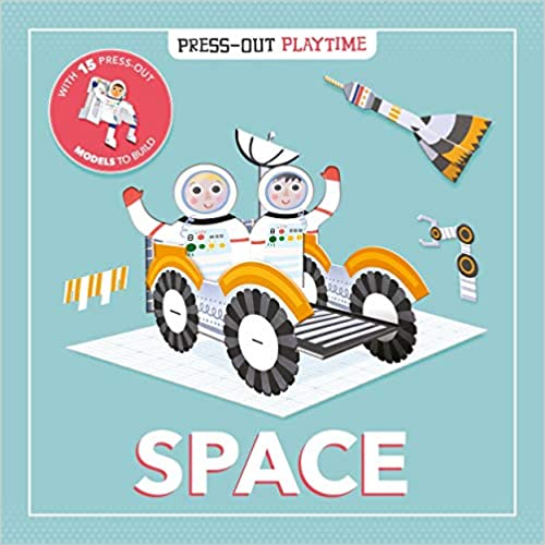 Press-out Playtime Space - Hardcover