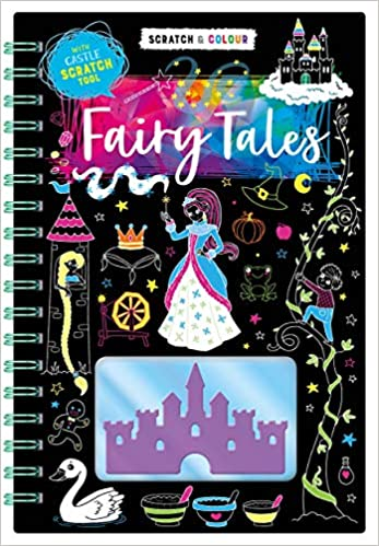 Scratch & Colour: Fairy Tales - Hardcover