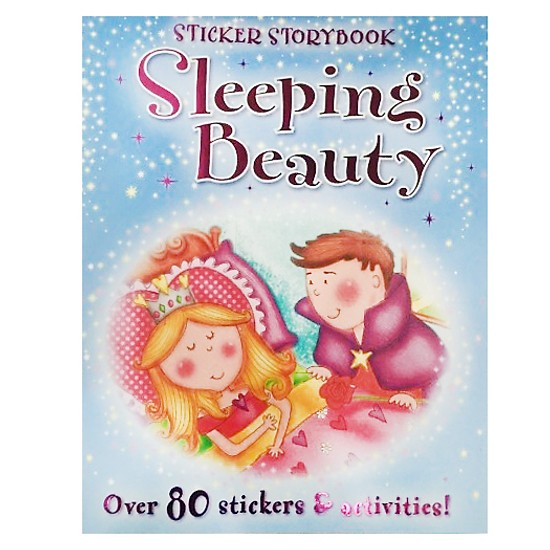 Sleeping Beauty: Sticker Story Book, Fairytales - Papaerback
