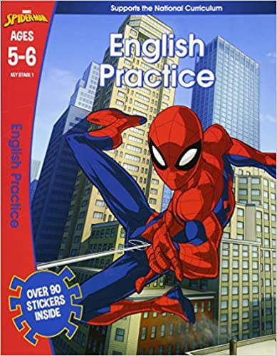 Spider-Man: English Practice, Marvel Learning - Paperback