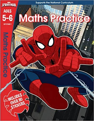 Spider-Man: Math Practice, Marvel Learning - Paperback