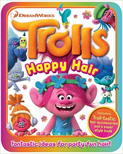 Trolls Happy Hair Kit - Paperback