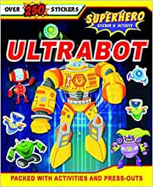 Ultrabot: S & A Superheroes - Paperback