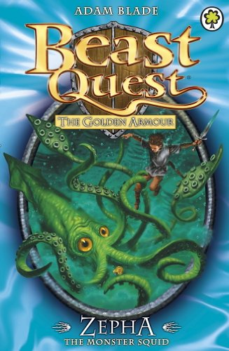 Zepha the Monster Squid (Beast Quest Series 2 book 1) - Paperback