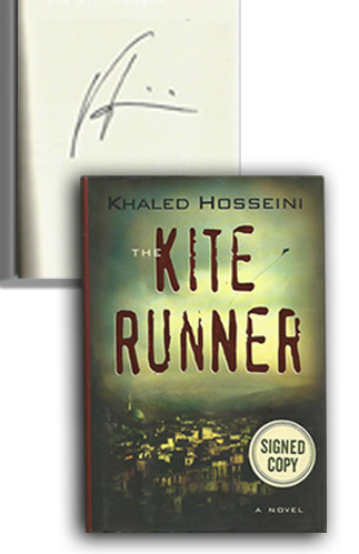 Kite Runner Signed Copy