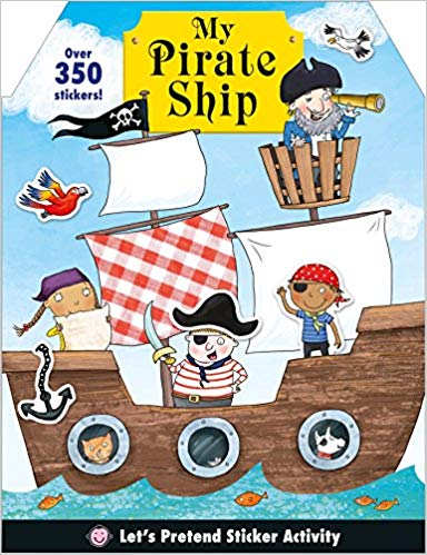 Let's Pretend: My Pirate Ship Sticker Activity Book