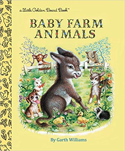 Baby Farm Animals (Golden Baby)
