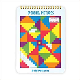 Mudpuppy Bold Patterns Pixel Pictures