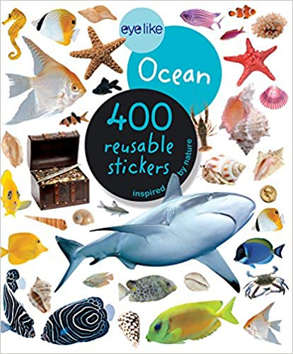 Eye like Ocean - 400 Reusable Stickers Inspired by Nature