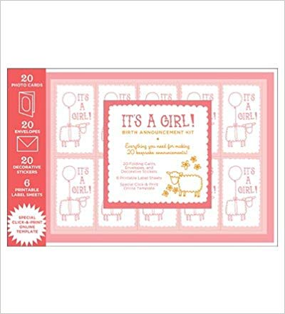 Birth Announcement Kit Girl
