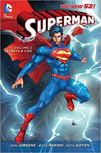 Superman Volume 2: Secrets & Lies HC (The New 52)