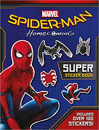 Spider-Man: Homecoming Movie Sticker Book -