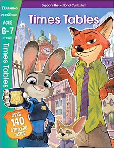 Zootropolis - Times Tables, Ages 6-7 (Disney Learning) -